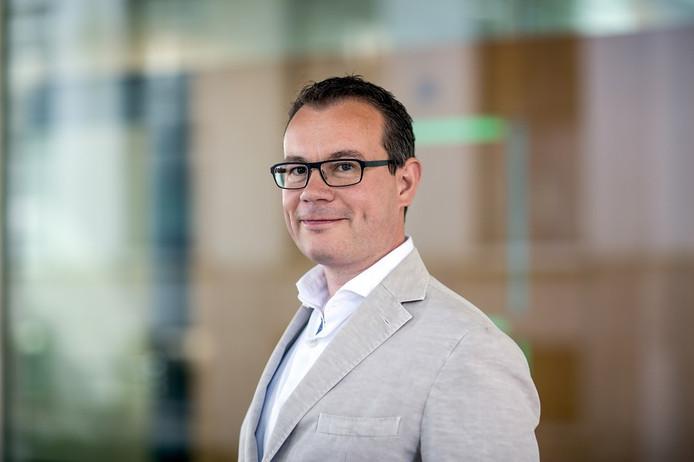 Wethouder Mario Jacobs van de gemeente Tilburg.
