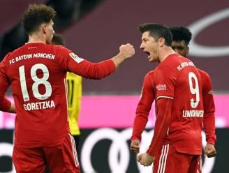 Van 0-2 naar 4-2! Bayern keert situatie dankzij hattrick Lewandowski helemaal om in topper tegen Dortmund