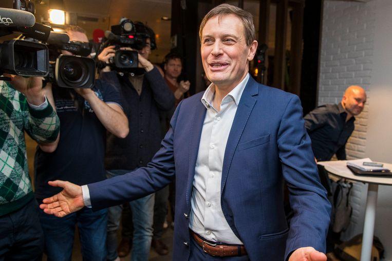 Karel Van Eetvelt bij zijn aanstelling als Anderlecht-CEO. Hij pleit voor een doorgedreven herverdeling van de Europese gelden. Beeld Photo News