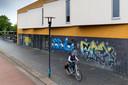 't Spectrum in Schijndel was in het verleden nog wel eens de dupe van jongeren die graffiti op het gebouw spoten.