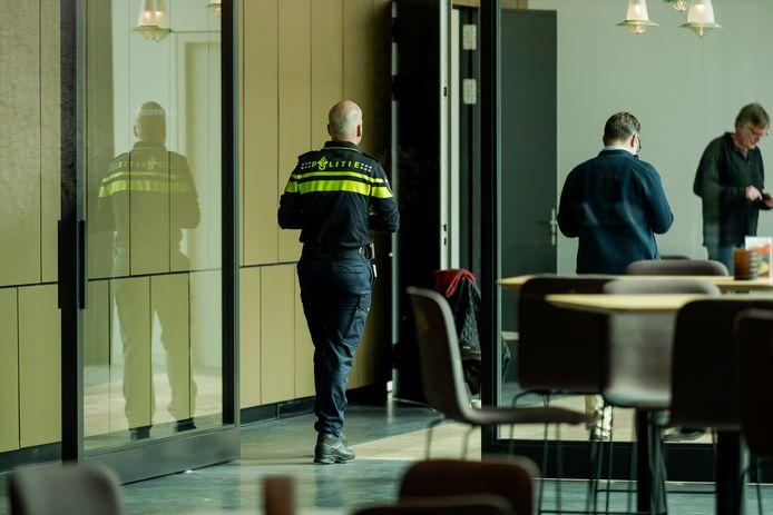 Politieonderzoek in museum Singer in Laren.