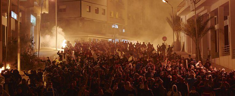 'Razzia' speelt zich af tegen straatprotesten in Casablanca. Beeld Cinéart