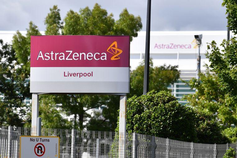 Het Britse bedrijf AstraZeneca produceert de vaccins. Beeld Hollandse Hoogte / AFP