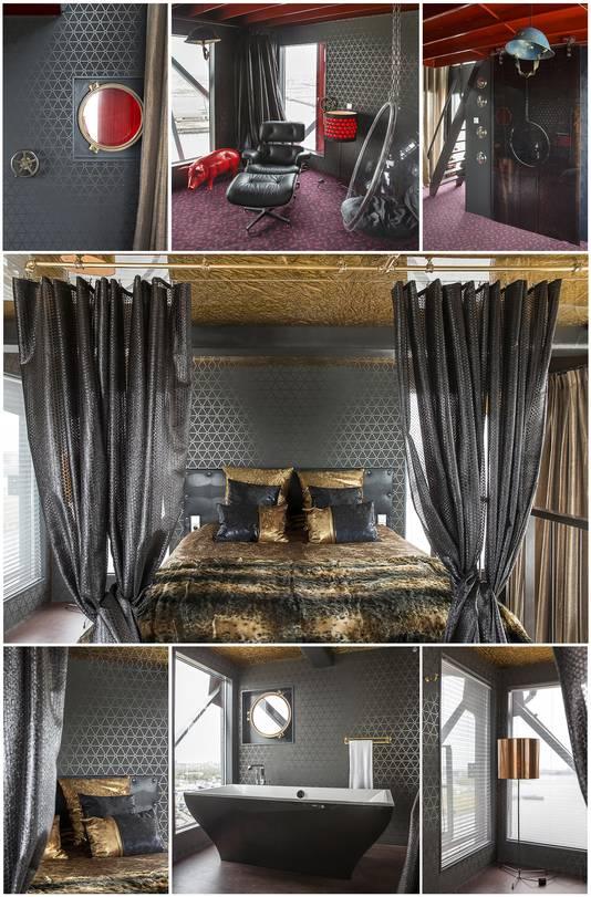 Mystique suite, een van de luxueuze kamers in het hotel