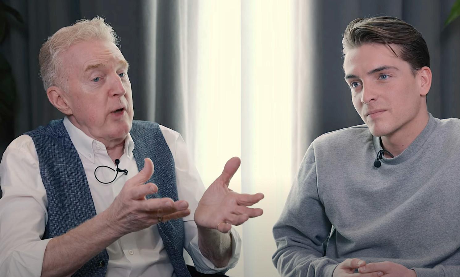 André van Duin te gast bij Robbert Rodenburg in de Youtube-serie Open Kaart.