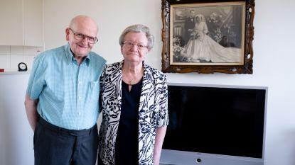 Louis en Alphonsine vieren briljanten huwelijk