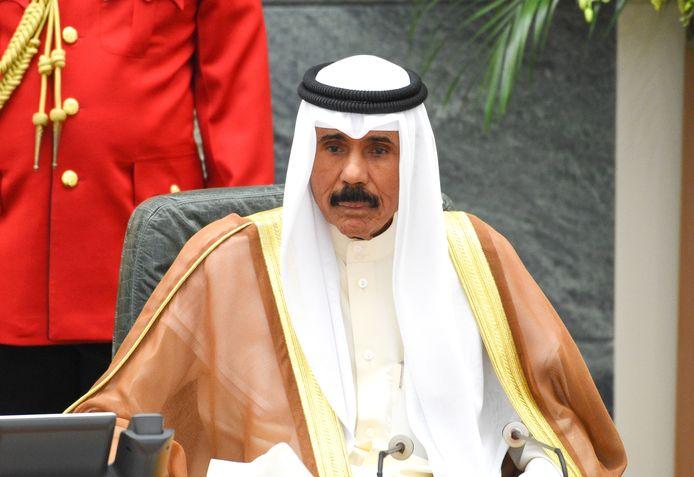 Sheikh Nawaf al-Ahmad Al-Sabah is de emir van Koeweit.