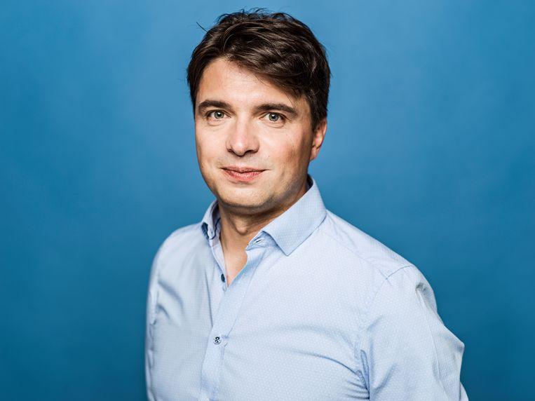 Michaël Van Droogenbroeck: 'Het spaarboekje is een verliesboekje geworden. En dat zal niet veranderen.' Beeld Johan Jacobs