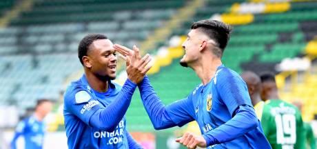 Dilemma voor Letsch bij Vitesse: Met Darfalou, Broja en Openda zijn er drie spitsen voor twee plekken