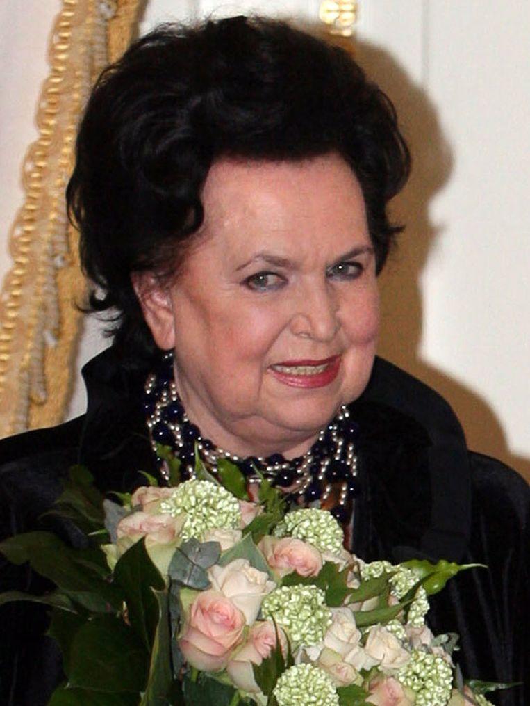 De Russische sopraan Galina Visjnevskaja. Beeld afp