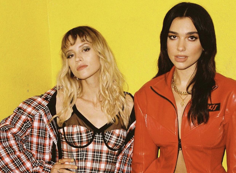 Angèle en Dua Lipa: 'De song is de perfecte combinatie van ons beiden.' Beeld rv