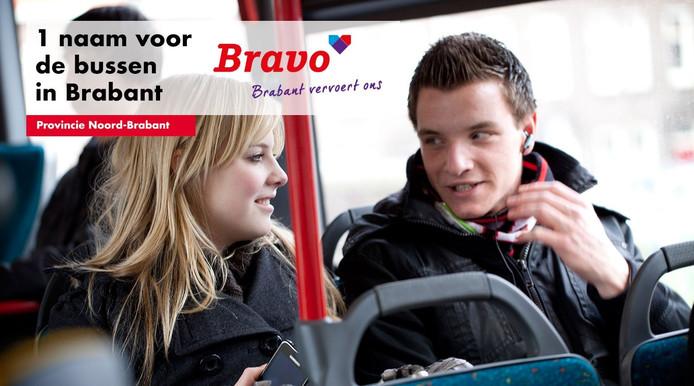 Het regionale openbaar vervoer in Brabant krijgt vanaf 11 december een nieuwe naam, namelijk: Bravo.
