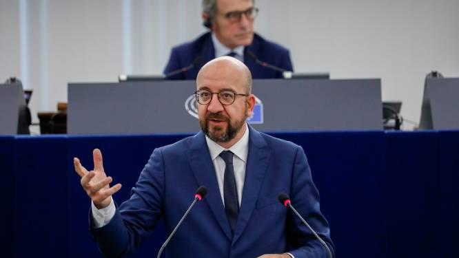 """Charles Michel waarschuwt Londen: """"EU is bereid alle middelen in te zetten in brexitkwestie"""""""