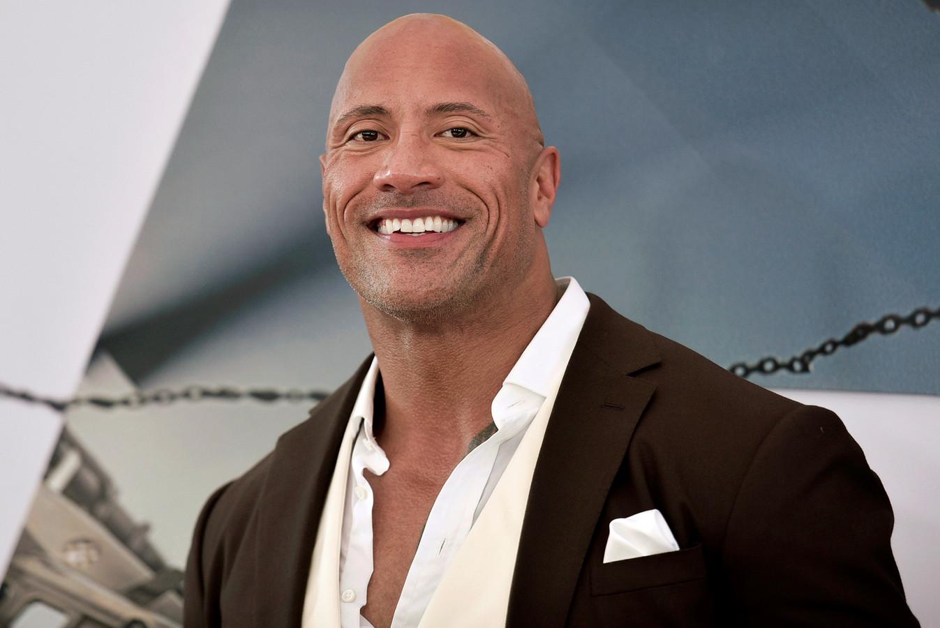 "Dwayne Johnson, alias ""The Rock""."
