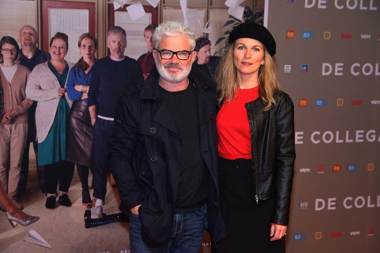 Stany Crets en partner Ann Van Den Broeck.