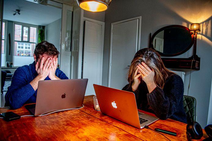 Steeds meer Utrechters ervaren angst of zijn overspannen door de coronapandemie.
