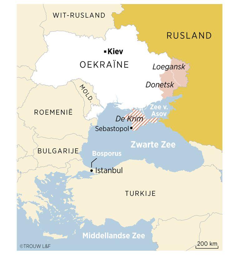 De regio rond de Zwarte Zee. Beeld Louman & Friso