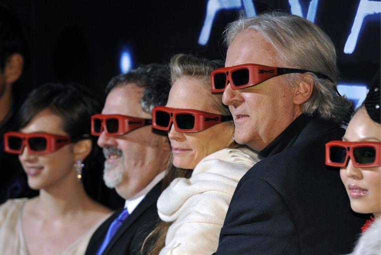 De Avatar-cast gaat terug naar Pandora. Of eigenlijk naar Nieuw-Zeeland, waar de opnames voor de vervolgfilms worden hervat. Beeld EPA