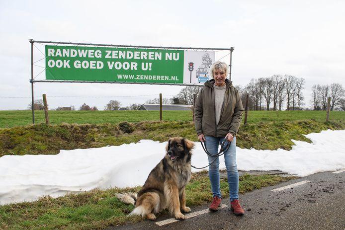 Sandra Ottolander van de stichting Zenderen filevrij.