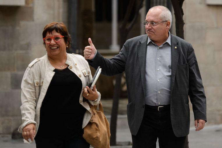 Lluís Puig (rechts). Beeld / Cordon Press