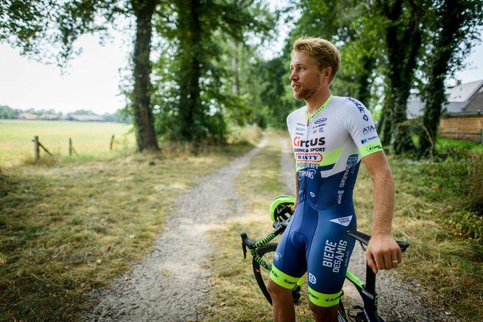 Maurits Lammertink kijkt uit naar de Tour de France.