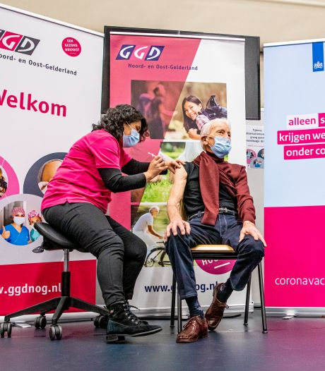 GGD opent vaccinatielocatie in Heerde: 120 vaccinaties per dag