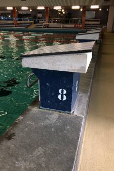 Oud startblok uit Sportfondsenbad als bijzettafel