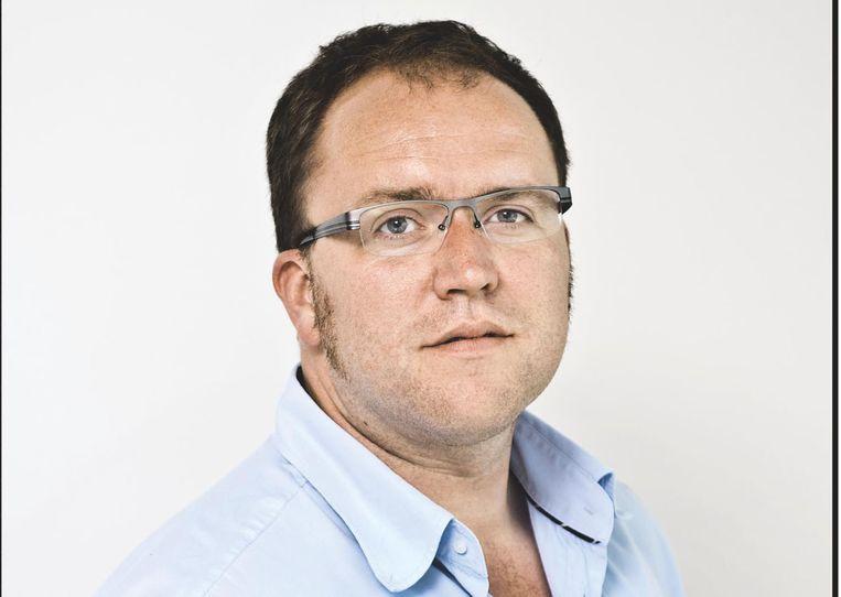 Hoofdredacteur Frank Depoorter.