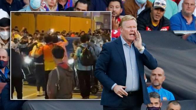 """Boze Barça-fans belagen Koeman na verloren Clásico en slaan met smartphones zelfs deuken in z'n wagen: """"Wegwezen!"""""""