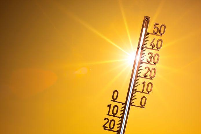 Het KNMI verwacht ook vandaag weer tropische temperaturen