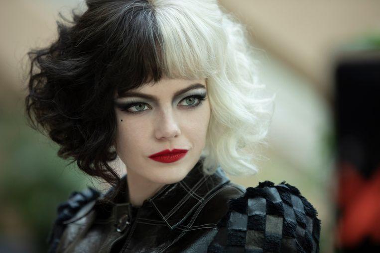 Emma Stone als Cruella. Beeld Laurie Sparham