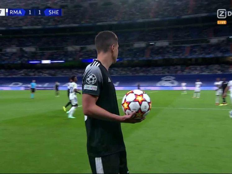 Sensationeel: Sheriff in laatste minuut langs Real Madrid