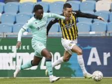 Willem II'er Leeroy Owusu baalt van gemiste kans tegen Vitesse: 'Die bal moest er in'