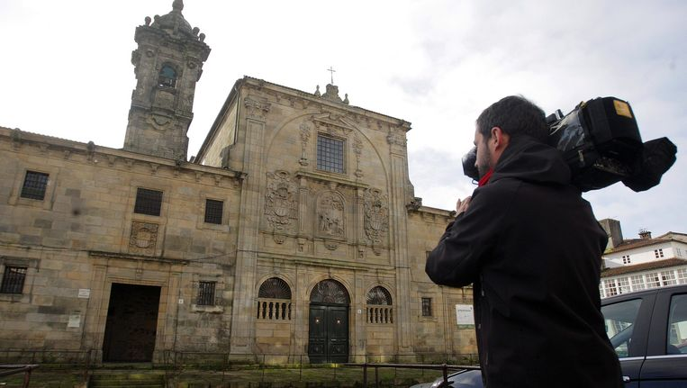 Het besloten klooster Mercedarias de Santiago waar drie nonnen tegen hun wil werden opgesloten Beeld null