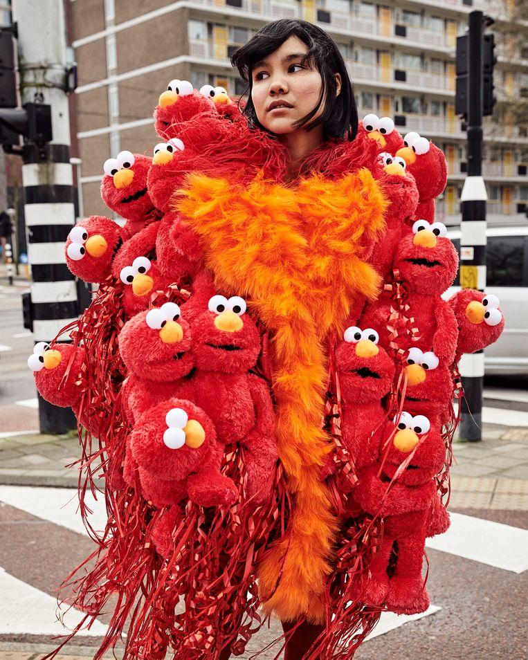JimmyPaul: Elmo. Beeld Marc de Groot