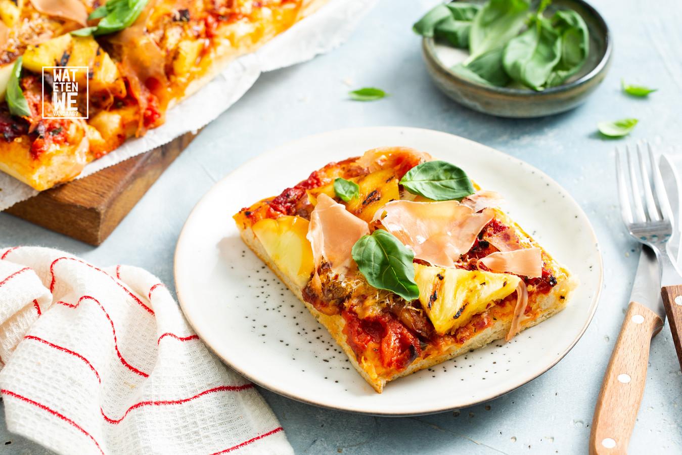 Pizza hawaii deluxe