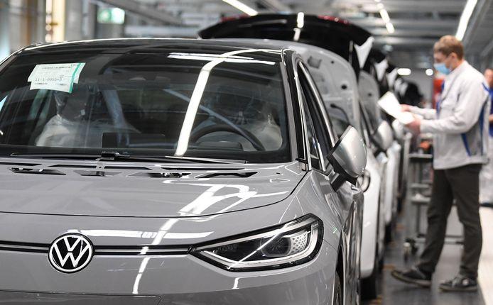 De komst van de volledig elektrische ID.3 vorig jaar heeft Volkswagen niet kunnen behoeden voor een forse boete van de Europese Unie.
