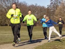 Schelfhorstpark Winterloop in Almelo: alleen voor echte bikkels
