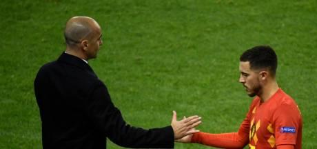 Confiant pour Hazard, bluffé par Lukaku: les confidences de fin d'année de Roberto Martinez