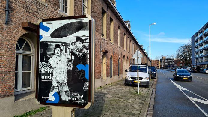 De Lange Stallen in de Keizerstraat in Breda.