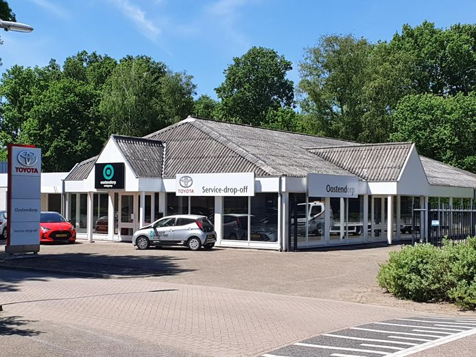 Oostendorp Toyota heeft zich met een Drop-Off point gevestigd in de voormalige Mazda-showroom van Auto Smolders aan de Lange Akkers in Westerhoven.