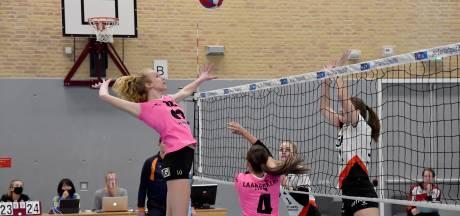 Stuntje van volleybalsters FAST tegen koploper eredivisie