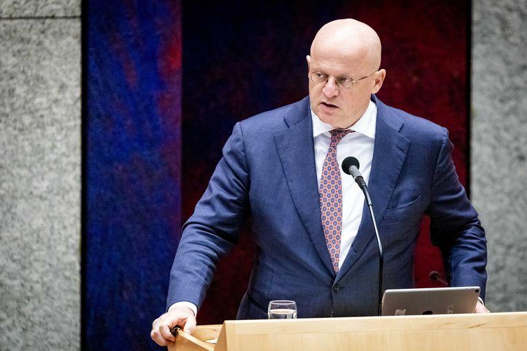 Ferd Grapperhaus, minister van justitie en veiligheid. Beeld ANP