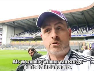 """Onze videoman bij RSCA-fans: """"Brugge riskeert zondag een rammeling"""""""