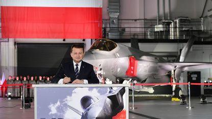 Polen koopt 32 gevechtsvliegtuigen type F-35