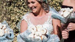 Dit eetbare bruidsboeket is de droom van elke donutliefhebber