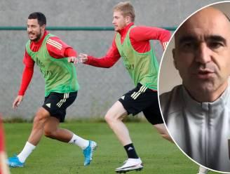 Eden Hazard, De Bruyne, maar ook De Ketelaere: bondscoach Martínez praat over de hete hangijzers