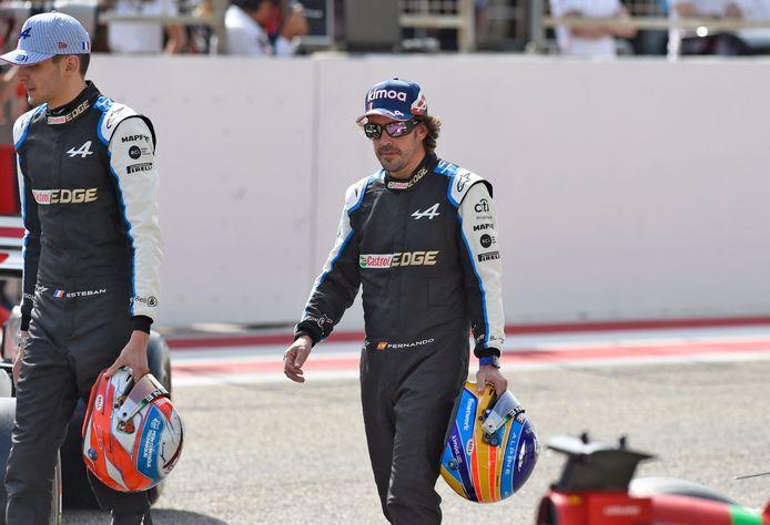 Fernando Alonso is terug in de Formule 1.