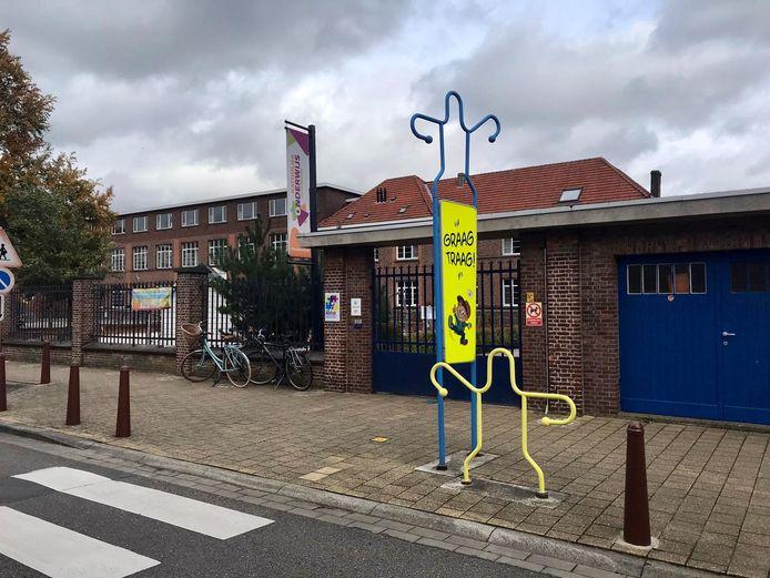De lagere school van Wonderwijzer, waar het incident dinsdagnamiddag plaatsvond