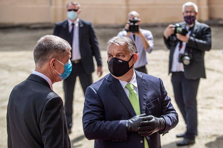Viktor Orbán in juni 2020. Beeld EPA